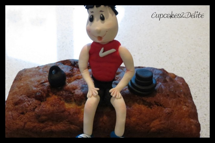 Bodybuilder Sugar Art