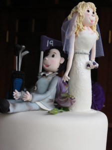 Bride & Groom Sugar Art