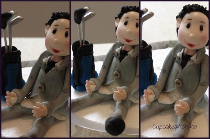 Bride & Groom Sugar Art