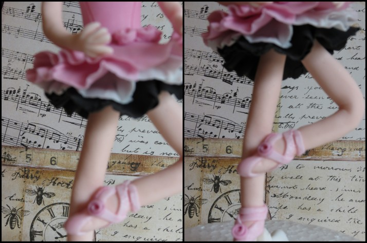 Ballerina Sugar Art Figurine