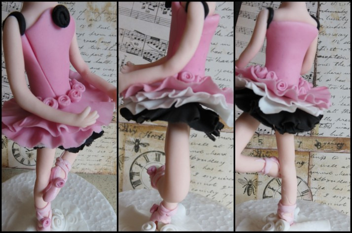 Ballerina Sugar Art Figurine