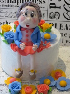 Granny Figurine Sugar Art