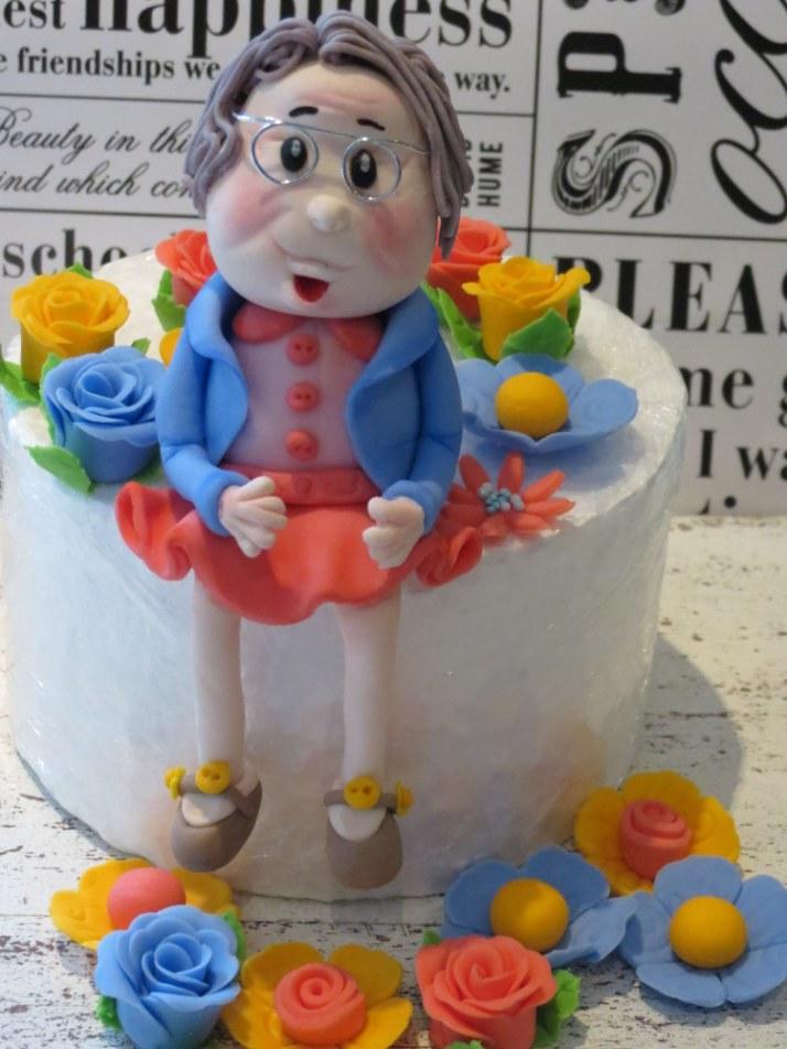 Granny Figurine Sugar Art