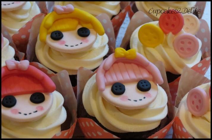 Lalaloopy Cupcakes
