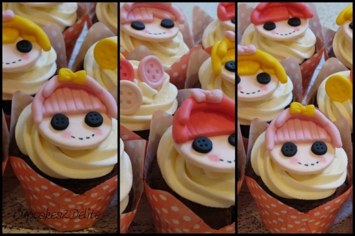 Lalaloopsy Doll Cupcakes