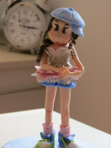Ballet Rocks Denim Figurine