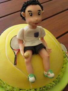 Tennis Figurine
