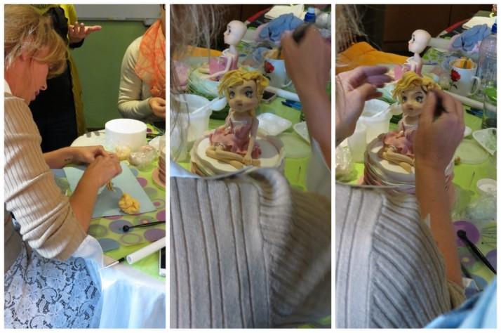 French Girl Sugar Art Class