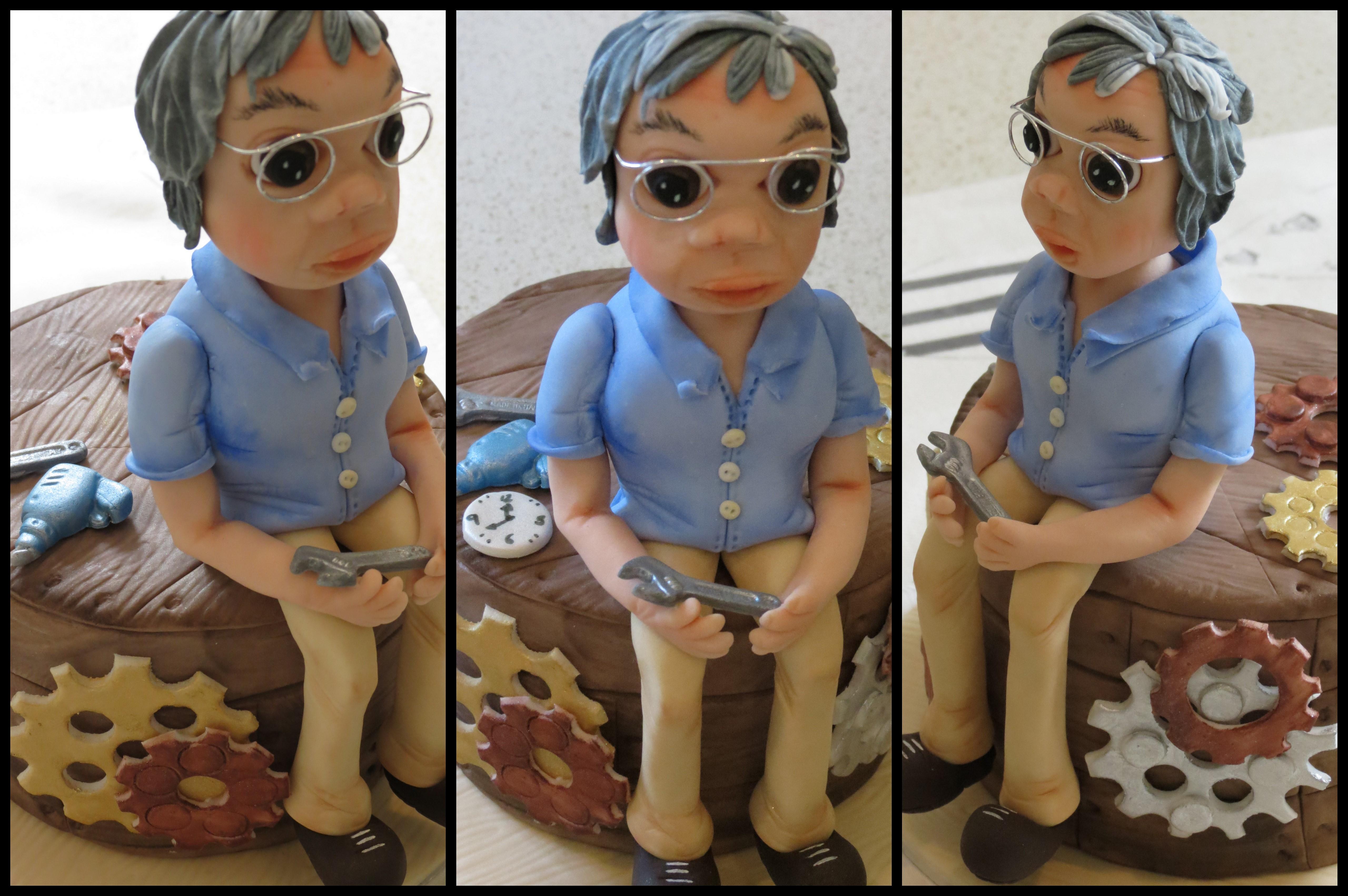 Grandpa Figurine