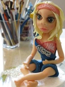Hippie Figurine
