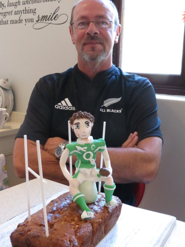 Fathers Day Rugby Cake