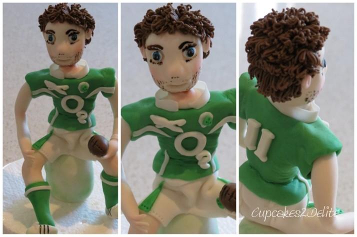 Irish Rugby Figurine