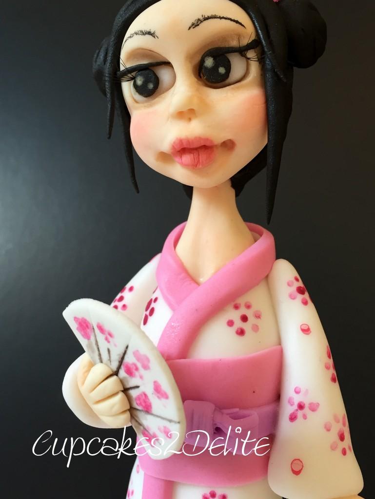 Japanese Girl Figurine