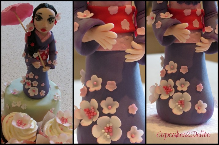 Japanese Girl Figurine