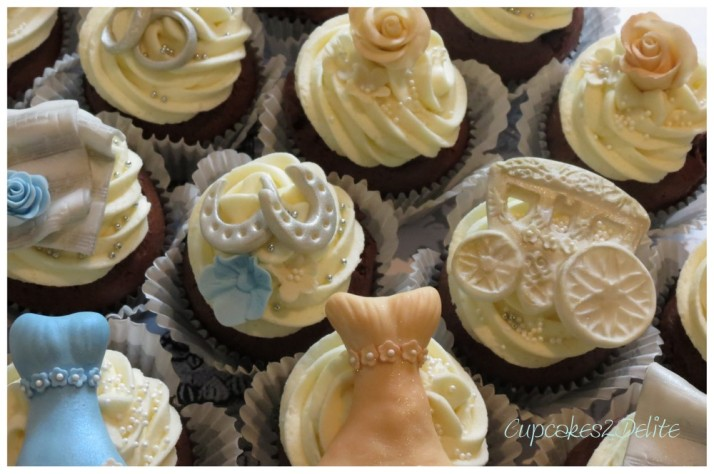 Wedding Thank You Cupcakes