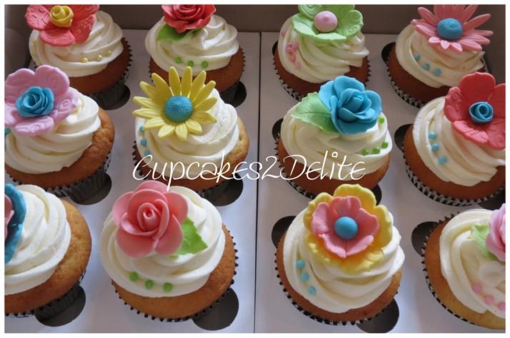 Ballet & Rock Wedding Cupcakes