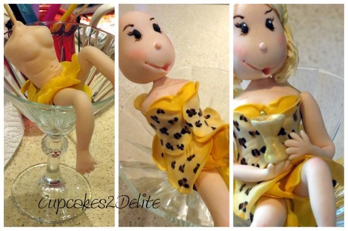 Leopard Print Figurine Cake4