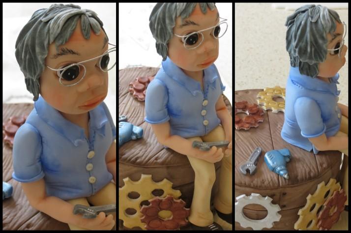 Granddad Sugar Art Figurine