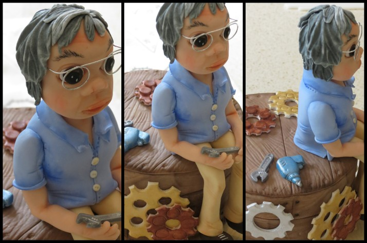 Granddad Sugar Art Figurine