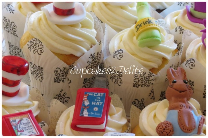World Literacy Day Cupcakes