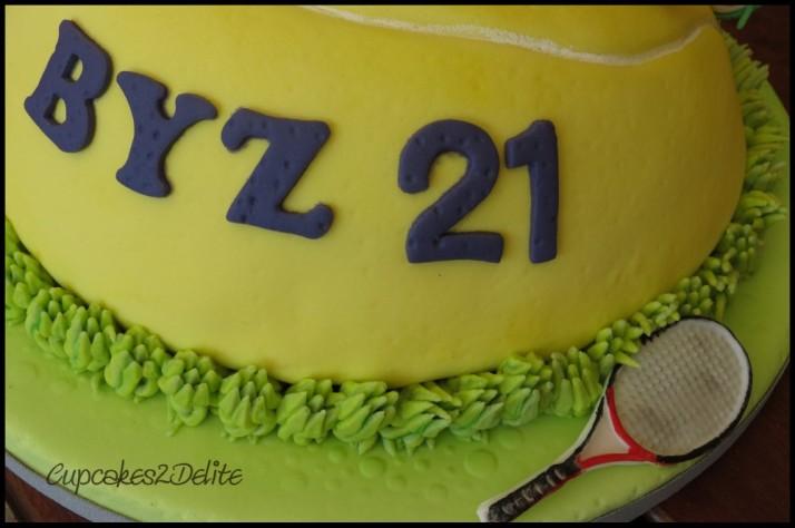 Byron's Tennis Cake2