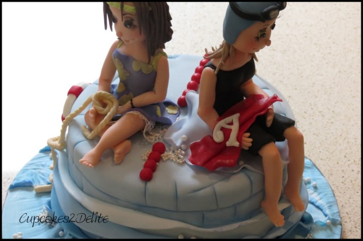 Swimming & Yachting Cake