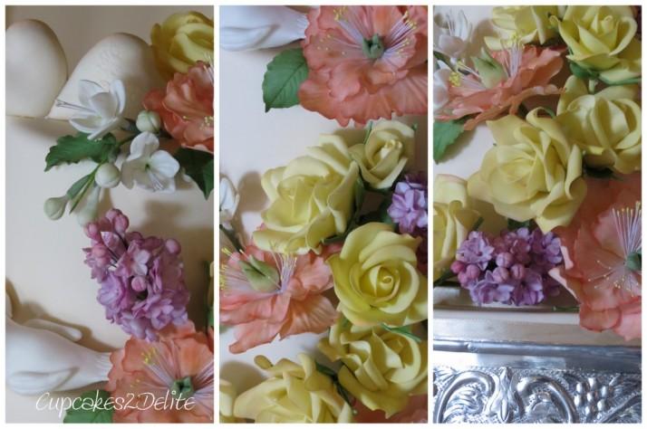 Peggy Porschen inspired Wedding Cake