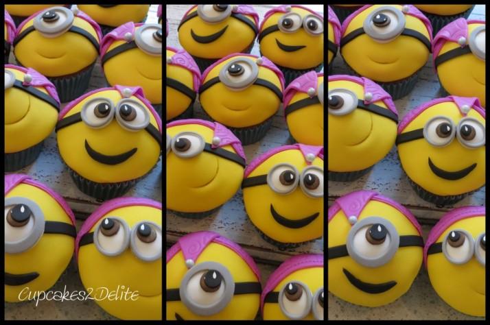 Minion Cupcakes5