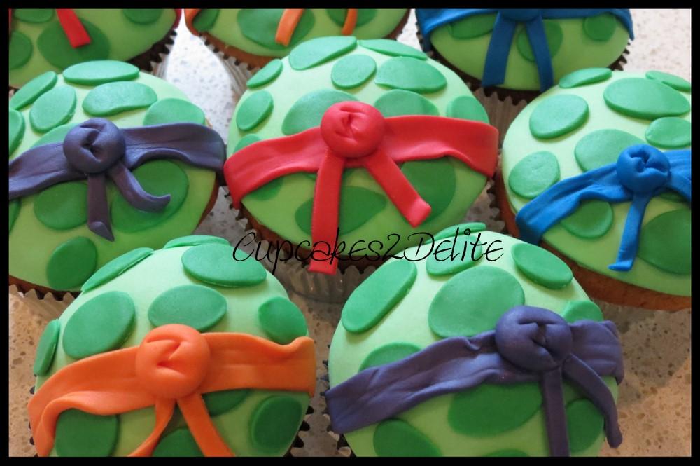 Ninja Turtle Cupcakes