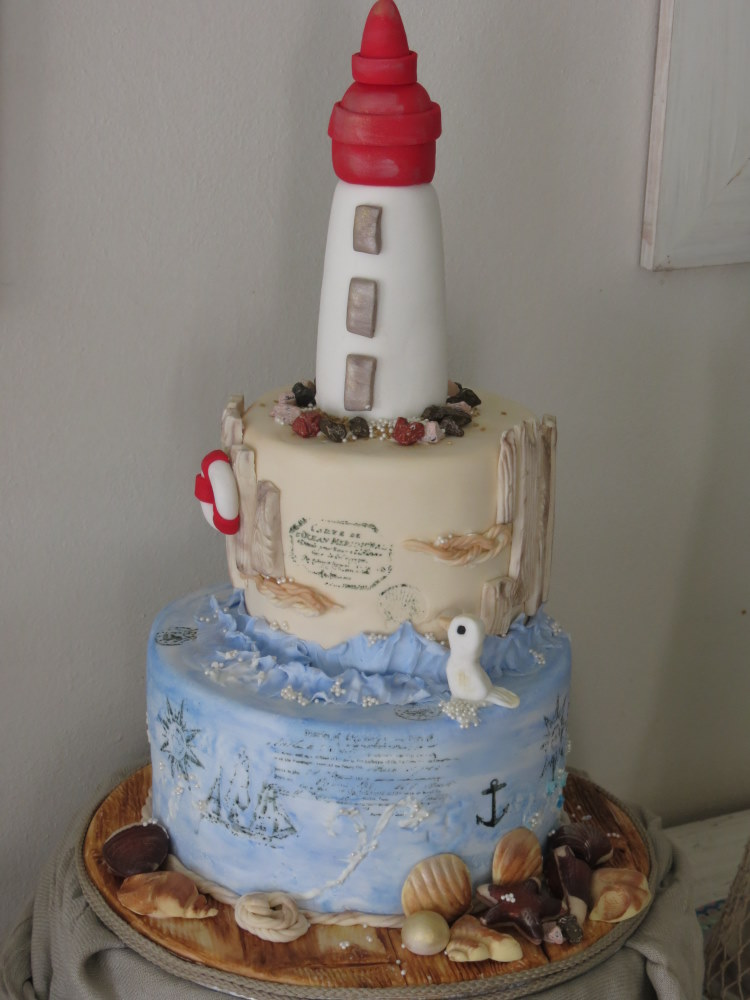 Lighthouse Cake