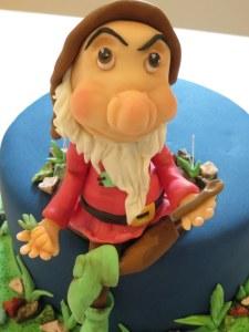 Grumpy Figurine Cake