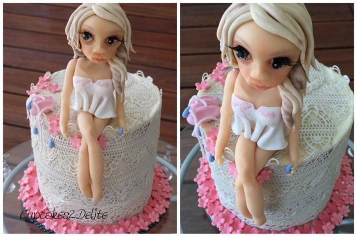 Dancing Figurine Cake