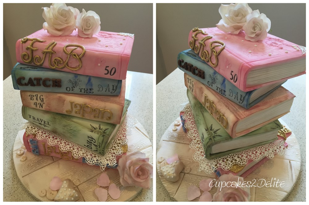 Book Birthday Cake