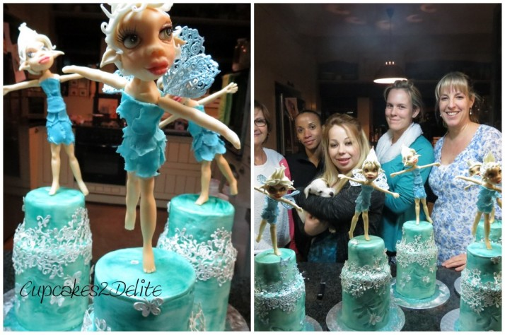 Blue Fairy Figurine Cake Class with Vicci!