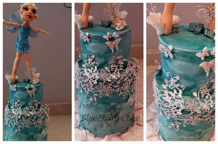 Blue Fairy Figurine Cake Class with Vicci!