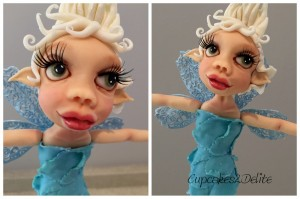 Blue Fairy Figurine