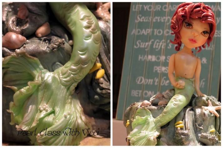 Mermaid Figurine Cake