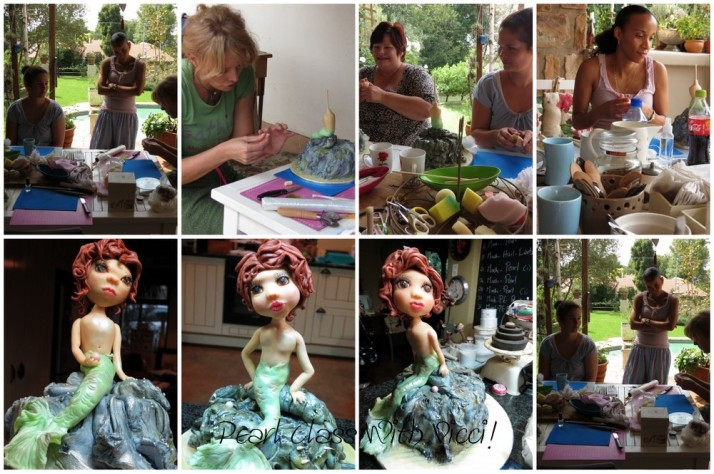 Pearl Figurine Class with Vicci