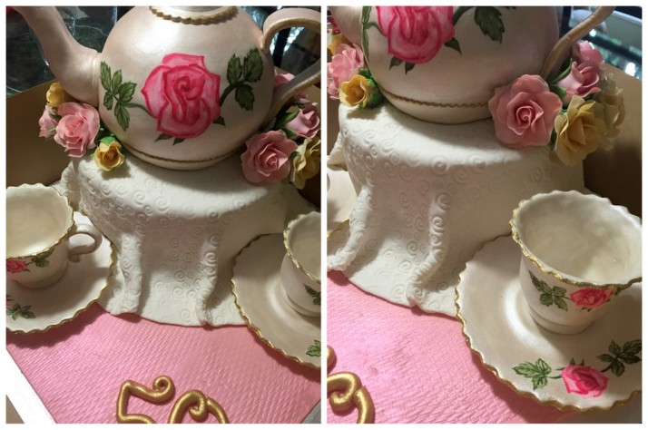 Tea Pot Cake by Ambers Cakes & Cupcakes