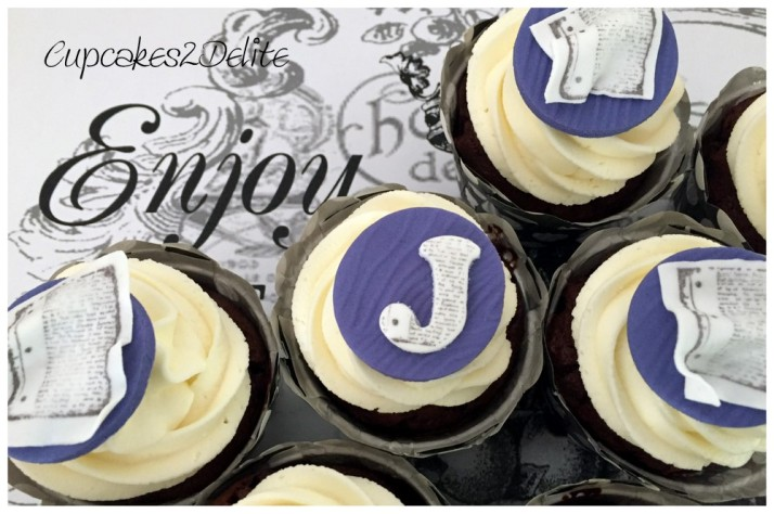 Justin's 18th Birthday Cupcakes