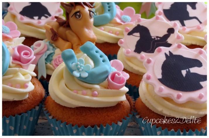Horse Riding Cupcakes