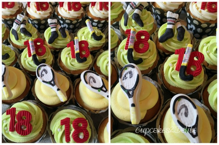 Tennis & Hockey Cupcakes