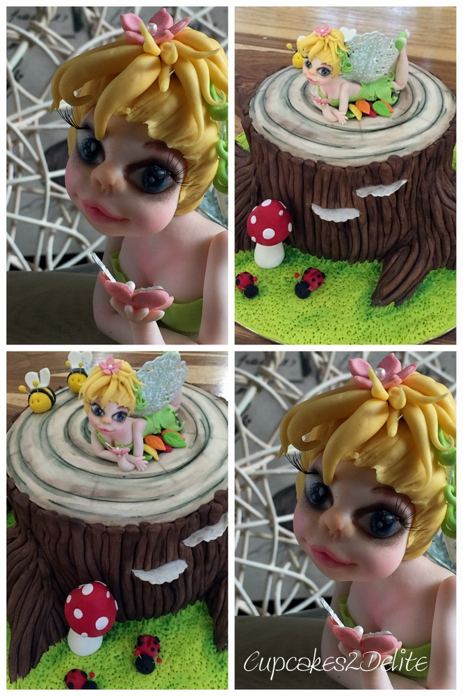 Tinkerbell Figurine for Woodland Cake