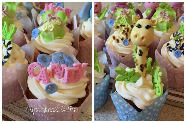 Baby Animal Cupcakes
