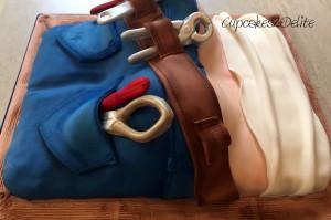 Plumber's Butt Cake