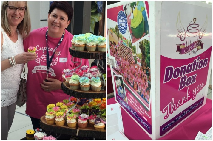 Aragon & Cupcakes2Delite, Cupcakes4Kids with Cancer