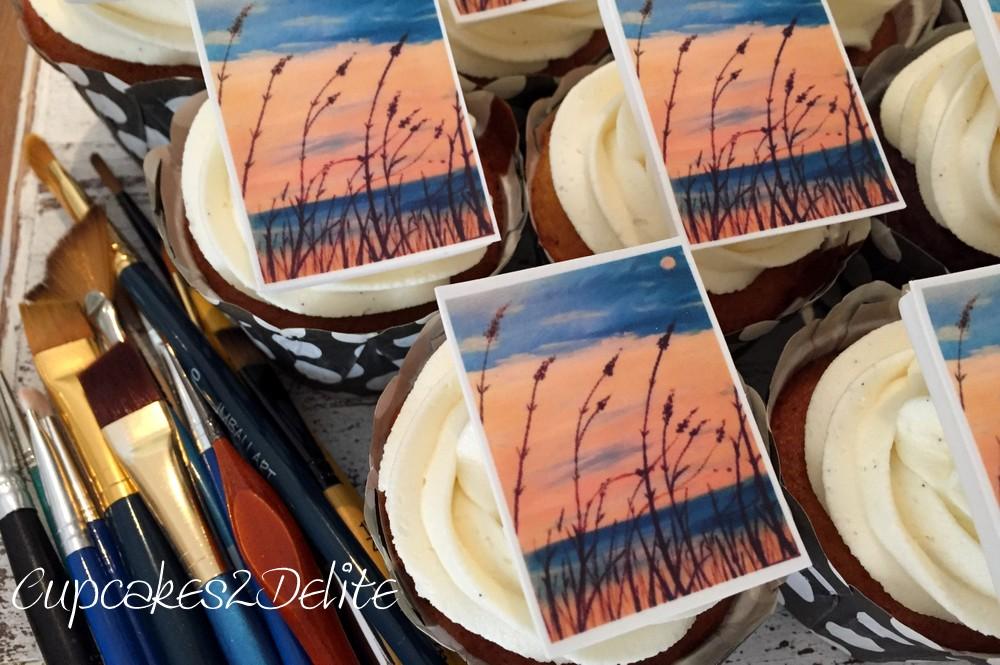 PaintNite Cupcakes