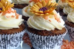 Bright Daisy Cupcakes