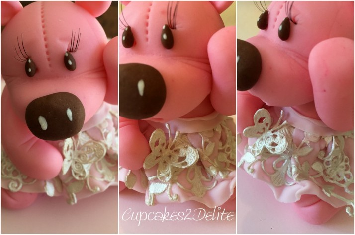 Teddy & Lace Cake