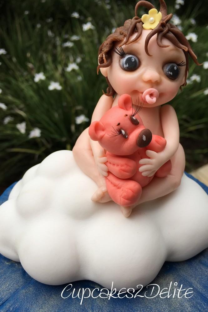 Angel on a Cloud Figurine